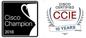 Cisco Champion CCIE 10 Years